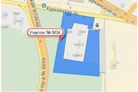 Земля в Москве 1,93 га № M34