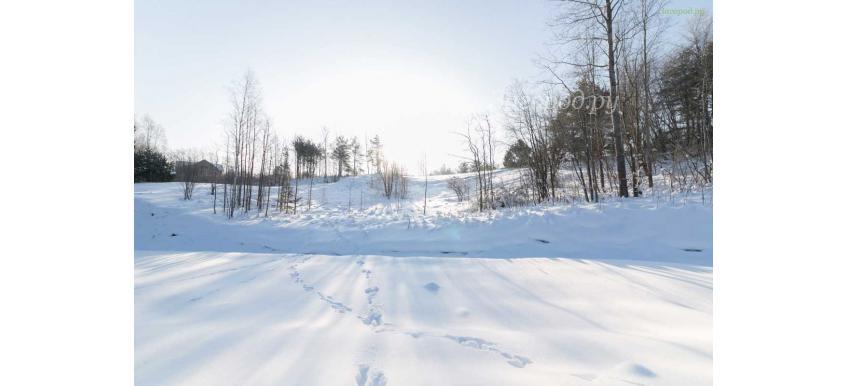 Покупка земли зимой